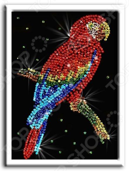 Мозаика из пайеток Волшебная мастерская «Попугай какаду» Мозаика из пайеток Волшебная мастерская «Попугай какаду» /
