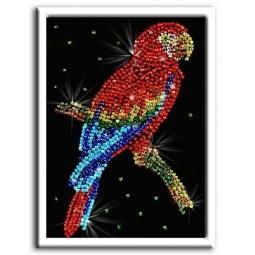 Купить Мозаика из пайеток Волшебная мастерская «Попугай какаду»