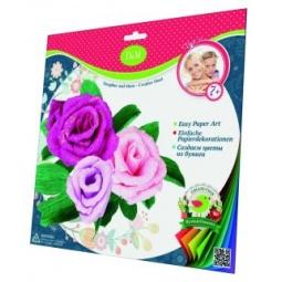 фото Набор для создания бумажных цветов Делай с Мамой «Розы»