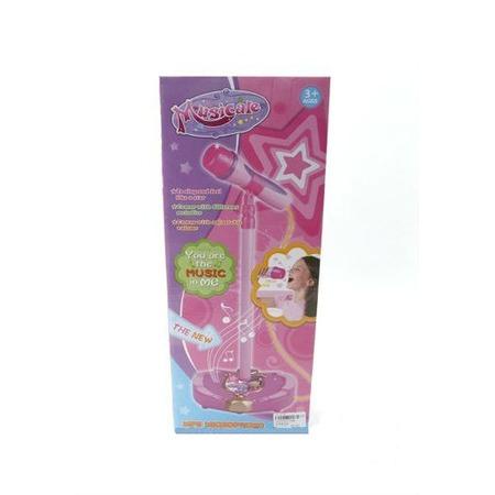 Купить Игрушка музыкальная Shantou Gepai «Микрофон на стойке» 71386