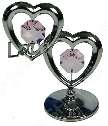 Фигурка декоративная Crystocraft «Сердце» с кристаллами Swarovski 67454Статуэтки и фигурки<br>Фигурка декоративная Crystocraft Сердце с кристаллами Swarovski 67454 это милая статуэтка, которая поможет разнообразить ваш интерьер. В зависимости от своих предпочтений вы можете установить фигурку в гостиной или зале, но она будет отлично смотреться и на прикроватной тумбочке в спальне или на рабочем столе. Такие симпатичные вещицы это еще и отличный способ отдохнуть на работе, если вы работаете на компьютере. Установите фигурку на столе и когда почувствуете усталость просто переведите на неё взгляд. Буквально через несколько минут вы почувствуете, что глаза снова готовы к работе и усталость проходит. Делать такие маленькие перерывы необходимо для вашего здоровья, но очень тяжело если вы целый день смотрите в экран монитора. Эта статуэтка может стать удачным подарком для любого офисного работника. Будьте осторожны, статуэтка очень хрупкая. Ухаживать за ней очень легко, но следует регулярно удалять пыль сухой и мягкой тканью.<br>