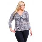 Фото Кофта Mondigo XL 8509. Цвет: серый. Размер одежды: 48