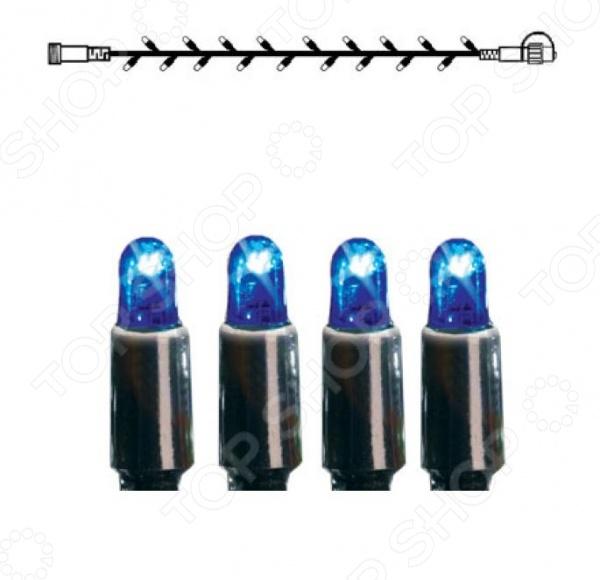 Модуль светодиодный для уличной гирлянды Star Trading System LEDНовогодние украшения<br>Модуль светодиодный для уличной гирлянды Star Trading System LED светодиодный модуль для подсветки нужных зон. Его можно разместить для расширения имеющейся гирлянды. Провод расширения имеет 5 метров и расчитан на 50 лампочек. Светодиодный модуль обеспечивает оптимальное количество света при минимальном потреблении электроэнергии.<br>