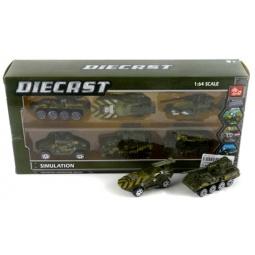 фото Набор машинок игрушечных Shantou Gepai «Военные» SQ80970-8