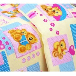 фото Детский комплект постельного белья Бамбино «Мишутки»
