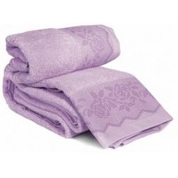 фото Комплект полотенец из махры Tete-a-Tete Т-МП-6468-04. Цвет: фиолетовый