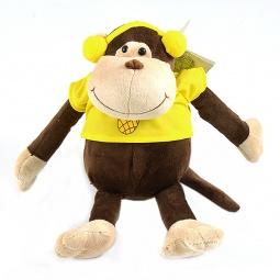 фото Мягкая игрушка Gulliver «Обезьянка Ананасик». Размер: 15 см