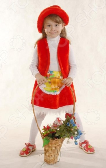Костюм новогодний для девочки Костюмы «Красная шапочка» К-041 карнавальные костюмы magic home новогодний костюм