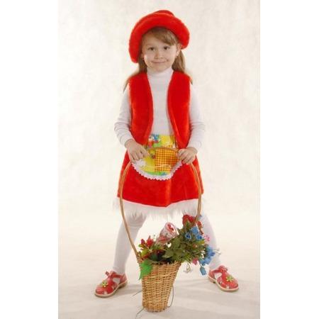 Купить Костюм новогодний для девочки Костюмы «Красная шапочка» К-041. В ассортименте