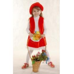 фото Костюм новогодний для девочки Костюмы «Красная шапочка» К-041. В ассортименте