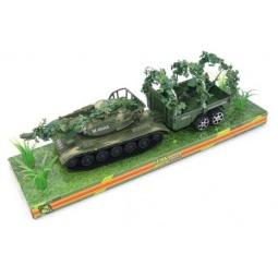фото Танк инерционный Shantou Gepai с прицепом M60A3-4P