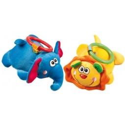 фото Мягкая игрушка развивающая Жирафики «Животные джунглей». В ассортименте