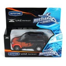 фото Машинка игрушечная Autotime UAZ PATRIOT «Пламя»