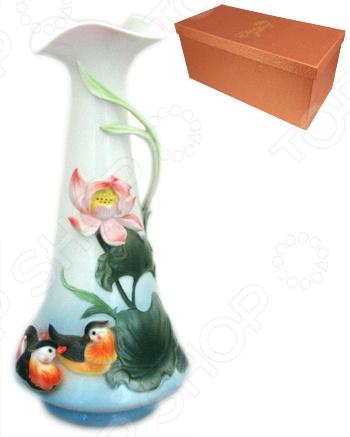 Ваза Elan Gallery «Утки мандаринки» вазы elan gallery ваза павлин в райском саду