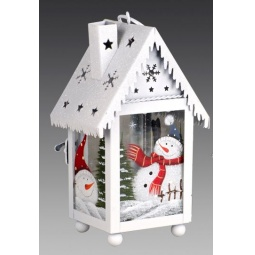 фото Фонарь рождественский Holiday Classics с трубой на крыше 1709358