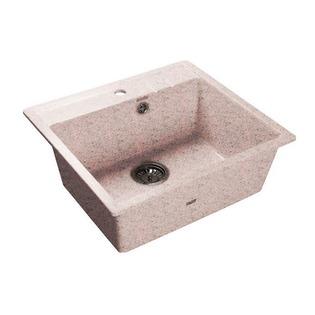 Купить Мойка кухонная GranFest Quadro GF-Q560. Цвет: розовый