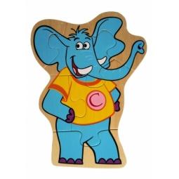 Купить Пазл деревянный ADEX «Слон»