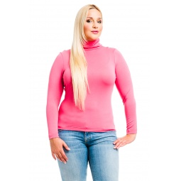 фото Водолазка Mondigo XL 046. Цвет: коралловый. Размер одежды: 50