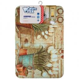 Купить Коврик напольный White Fox WHMD24-229 Country Delicate