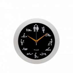 фото Часы настенные Mitya Veselkov «Камасутра». Цвет: черный