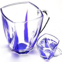 фото Набор стаканов Loraine. Объем: 180 мл. Цвет: синий