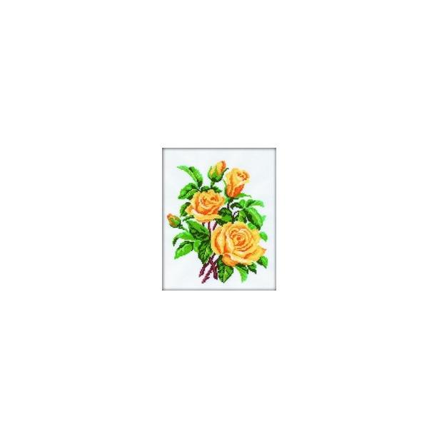 фото Набор для вышивания RTO «Желтые розы»