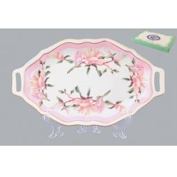 Купить Блюдо для нарезки Elan Gallery «Орхидея на розовом»