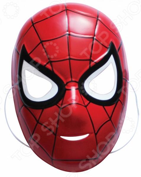 Маска детская Росмэн Marvel. Спайдермен это детализированный элемент карнавального костюма, представляющий собой маску, которая вызовет настоящий восторг у всех юных поклонников преображения. Маска очень практичная, ваш ребенок всё увидит через глазницы существа. Если у него будет костюм в едином стиле с маской, то приз на любом конкурсе костюмов ему обеспечен. Эти маски могут понравится как девочкам, так и мальчикам, ведь все дети любят чувствовать себя кем-то другим.