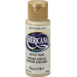 фото Краска акриловая DecoArt Премиум Americana. Цвет: яичная скорлупа