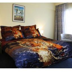 фото Комплект постельного белья Buenas Noches King Lev. Satin Fotoprint. 2-спальный