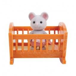 Купить Набор игровой Village Story «Малыш мышонок с кроваткой»