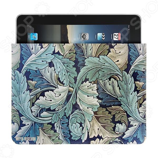 Чехол для iPad Mitya Veselkov «Листья» чехлол для ipad iphone mitya veselkov чехол для ipad райский сад ip 08