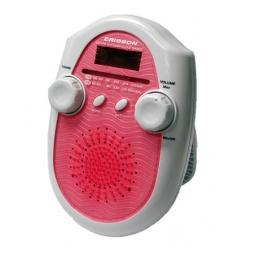 фото Радиочасы для душа ERISSON RWR-1388. Цвет: красный, белый