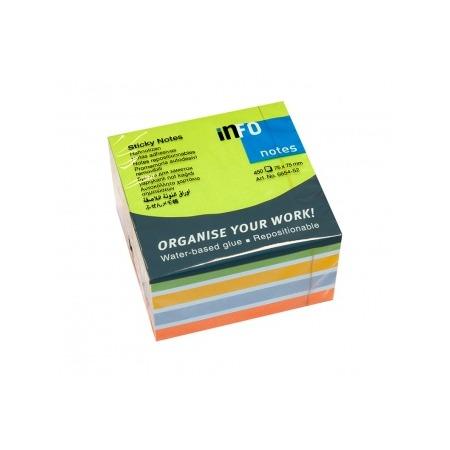 Купить Блок-кубик для записей Info Notes 5654-52