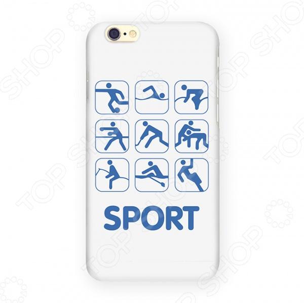 Чехол для iPhone 6 Mitya Veselkov Sport чехол для iphone 6 mitya veselkov много скандинавских лошадок
