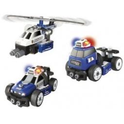Купить Набор-конструктор Smoby «Полиция 3 в 1» 500223