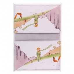 фото Обложка для паспорта двухсторонняя Mitya Veselkov «Принц и лис»