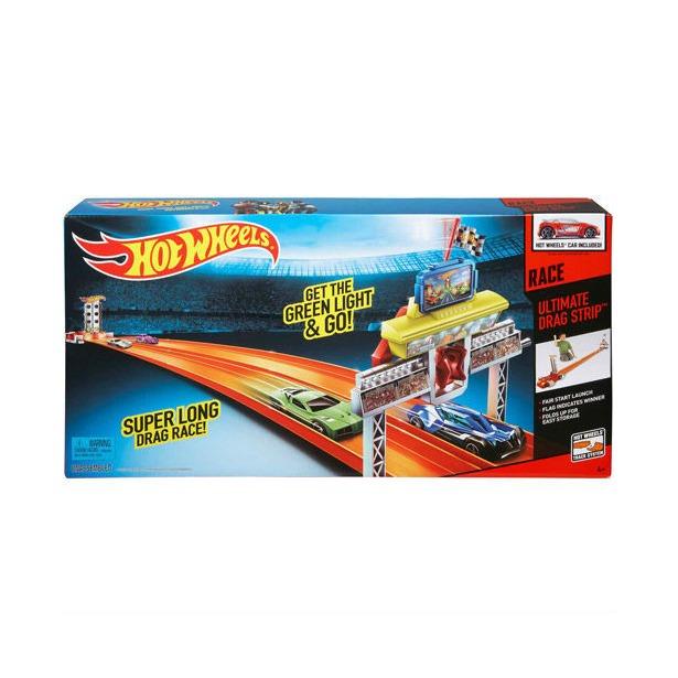 фото Трек гоночный Mattel для Дрэг-рейсинга