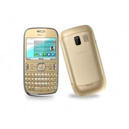 фото Мобильный телефон Nokia 302 Asha. Цвет: золотистый