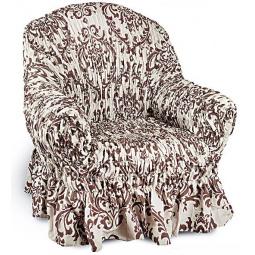 Натяжной чехол на кресло «Фантазия. Венеция»