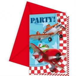 Купить Приглашения в конвертах Procos «Самолеты»