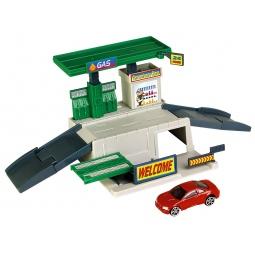 фото Набор игровой с машинкой Motormax «Заправка»