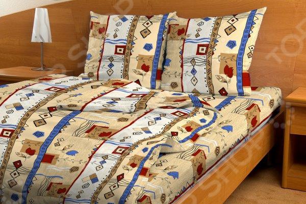 Комплект постельного белья Fiorelly «Стамбул». СемейныйСемейные<br>Спальня один из важнейших уголков квартиры. Это место, где человек может отдохнуть и набраться сил после трудного рабочего дня, прочитать любимую книгу и просто побыть вместе со своей второй половинкой. Именно поэтому к оформлению спальной комнаты следует подходить с большой ответственностью. Комплект постельного белья Fiorelly Стамбул прекрасное решение для любой спальни. Вас приятно удивит сочетание высококачественного материала, насыщенной цветовой палитры и оригинального узора. Оттенки бежевого и кремового привнесут в комнату особый уют, комфорт и гармонию. А изящный восточный орнамент станет органичным продолжением любого интерьера.  Бязь качество, практичность, изысканность! Постельное белье изготовлено из натурального хлопка. Особое переплетение утолщенных нитей формирует шахматный узор, который хорошо просматривается на самом полотне. Так называемое бязевое плетение, определяет исключительные потребительские качества постельного белья:  высокую прочность;  износоустойчивость;  хорошую воздухопроницаемость;  легкость стирки и глажки;  приятную текстуру ткани;  длительную стойкость красок;  хорошие теплоизолирующие свойства. Хлопок прекрасно сохраняет температуру и впитывает влагу. Поэтому в летнее время вы будете ощущать приятную прохладу, а в холодный сезон обволакивающее тепло. Хлопок не содержит аллергенов это самый подходящий материал для людей, чувствительных к различным внешним раздражителям. Рекомендации по уходу  Перед стиркой следует вывернуть белье на изнаночную сторону.  Рекомендуется предварительно застирать пятна, если они есть.  Сушить без использования нагревательных элементов.  Глажка с изнаночной стороны ткань предварительно увлажнить . Создайте спальню своей мечты Комплект постельного белья Fiorelly залог комфортного сна и отдыха. Утонченный орнамент в восточном стиле станет замечательным завершением рабочего дня, оставит позади все тревоги и шум города. Теперь каждая минута,