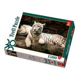 Купить Пазл 1500 элементов Trefl «Бенгальские тигры»