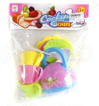 Набор посуды игрушечный Shantou Gepai «Чаепитие» 129-629Сюжетно-ролевые наборы<br>Набор посуды игрушечный Shantou Gepai Чаепитие 129-629 - станет отличным подарком для маленькой хозяюшки. Красочный набор не оставит равнодушной ни одну девочку. Теперь ваша малышка сможет устраивать настоящие пиршества для своих любимых кукол. Подобные игры способствуют развитию фантазии у ребенка, помогают ему стать более самостоятельным, плавно знакомят малыша с взрослой жизнью . Кроме того, в процессе игры, девочка освоит основные правила сервировки стола, а так же узнает названия и назначение кухонной утвари. Сервиз выполнен из высокопрочного безопасного материала.<br>