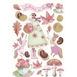 фото Листы с вырубками Tilda Осенний сад