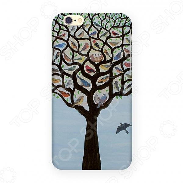 Чехол для iPhone 6 Mitya Veselkov «Дерево с птичками»