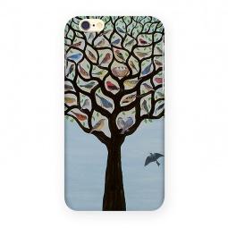 фото Чехол для iPhone 6 Mitya Veselkov «Дерево с птичками»