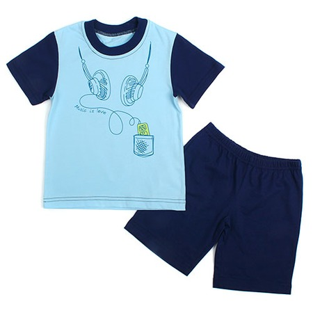 Купить Пижама Fenice ЯВ120811. Цвет: голубой, синий