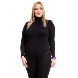 фото Водолазка Mondigo XL 1474. Цвет: черный. Размер одежды: 48